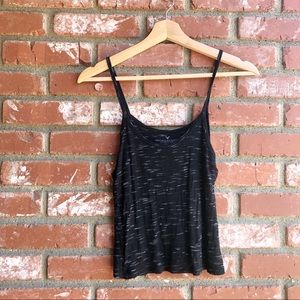 American Eagle marled strappy tank top size M